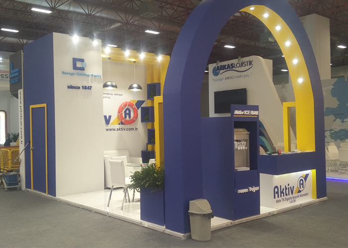 Ahşap Stand-30